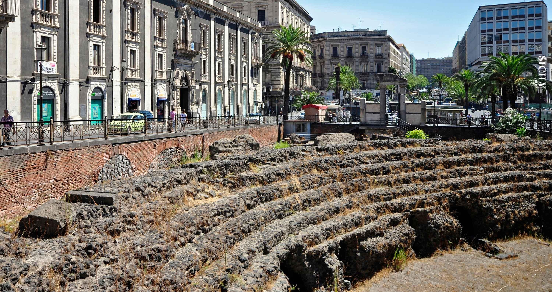 Roman Amphitheatre - Province of Catania