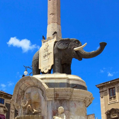 Elephant Fountain - Province of Catania
