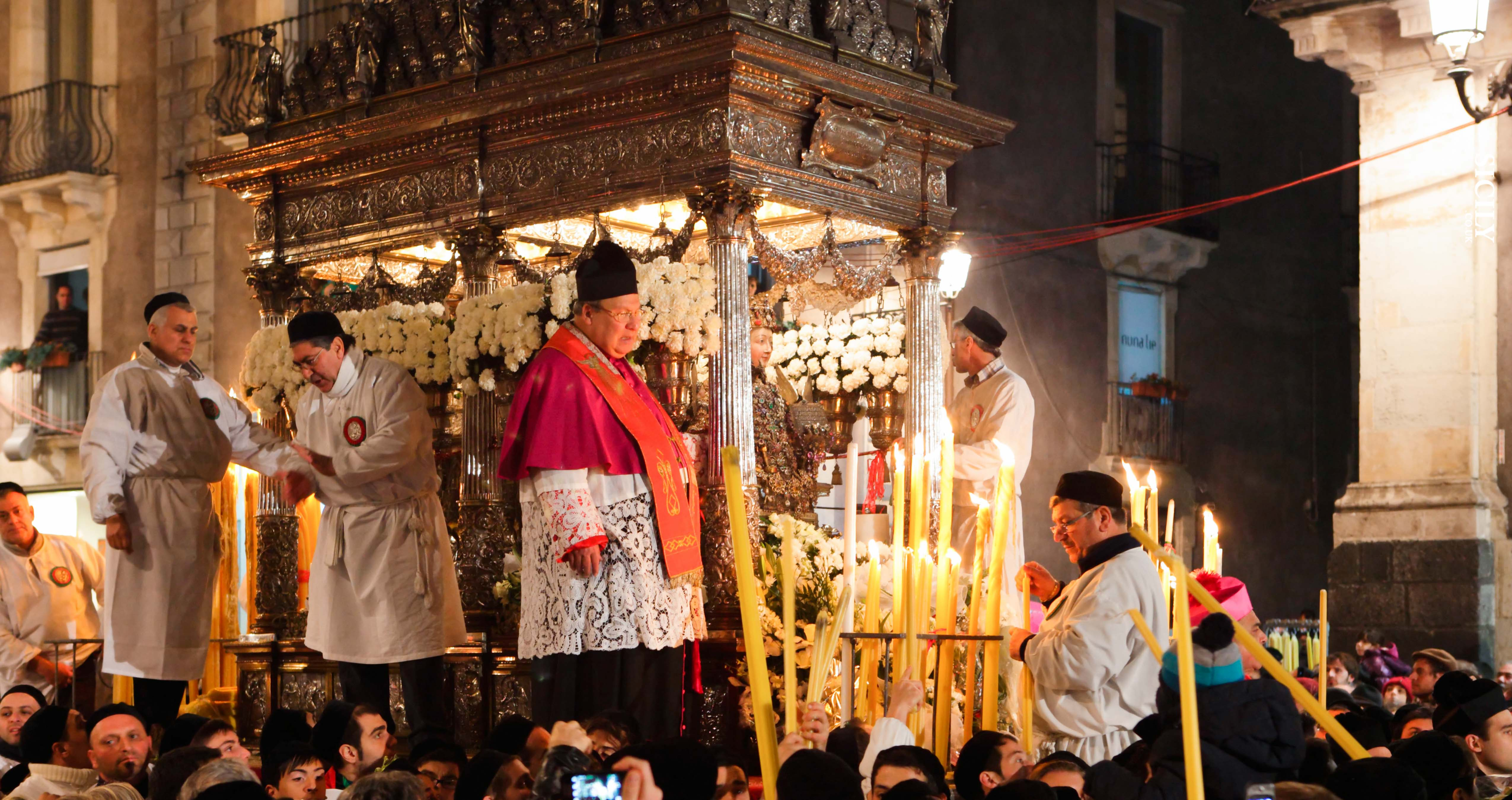 Festa di Sant'Agata (3-5/02)- The Festival of Sant'Agata - Sicily
