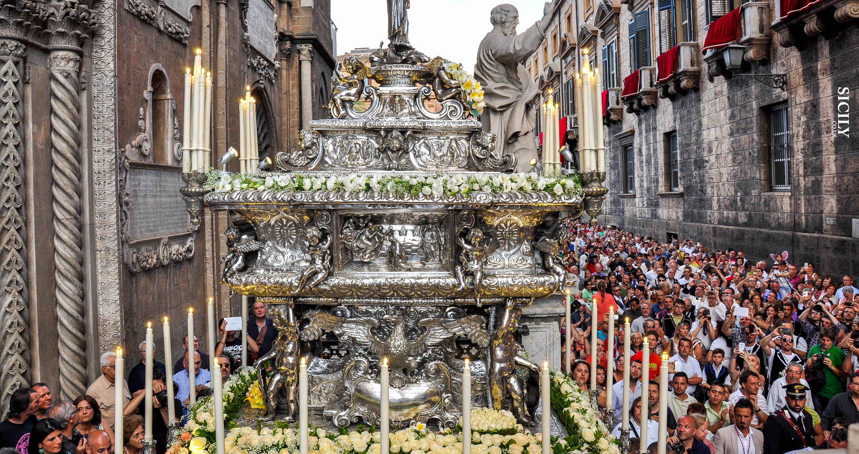 Festa di Santa Rosalia - Sicily