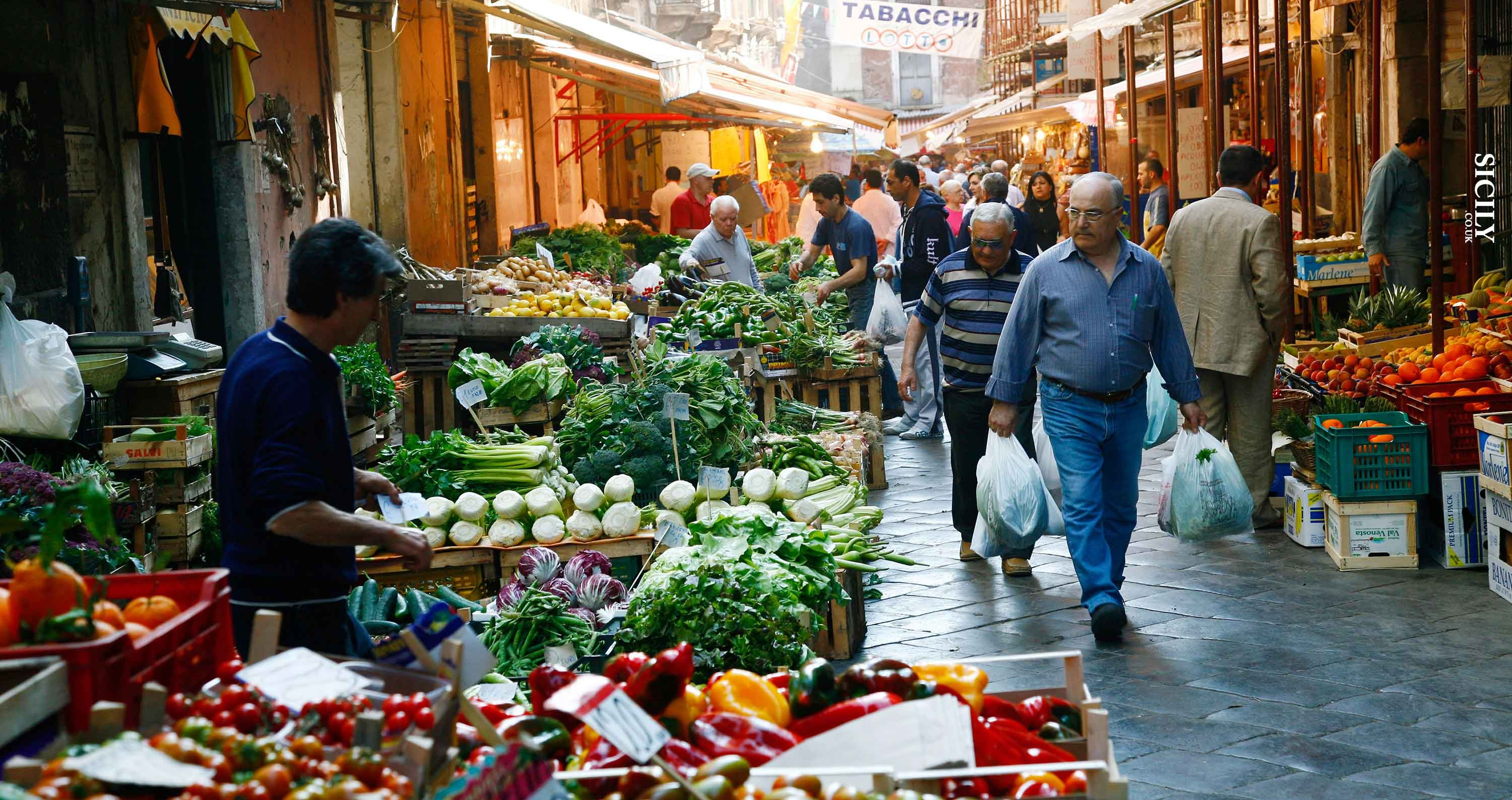 Markets In Palermo Sicily