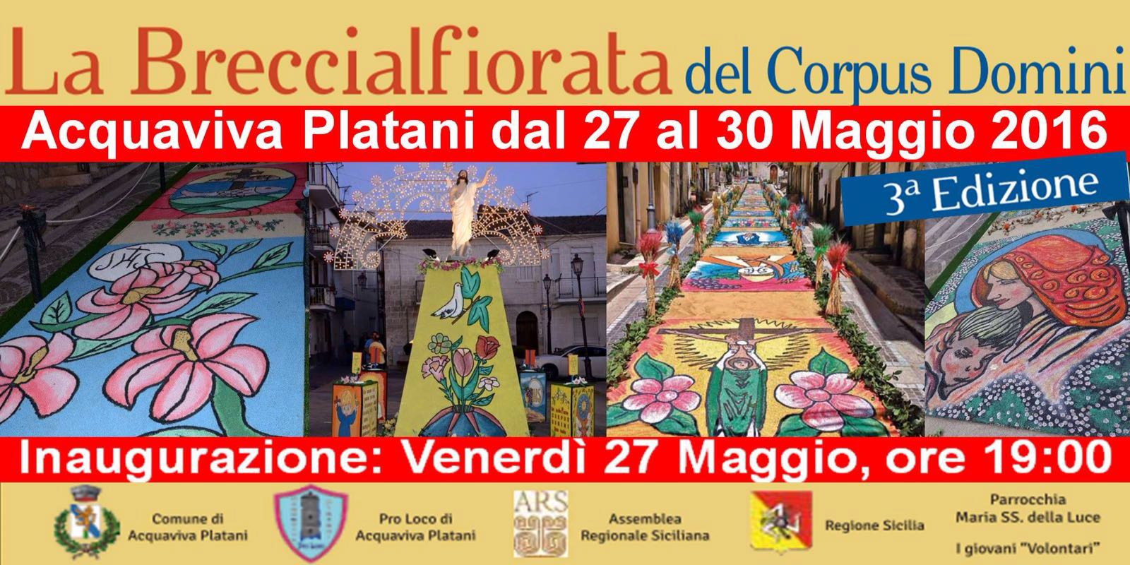 Breccialfiorata 27th of May to 30th of May - Sicily
