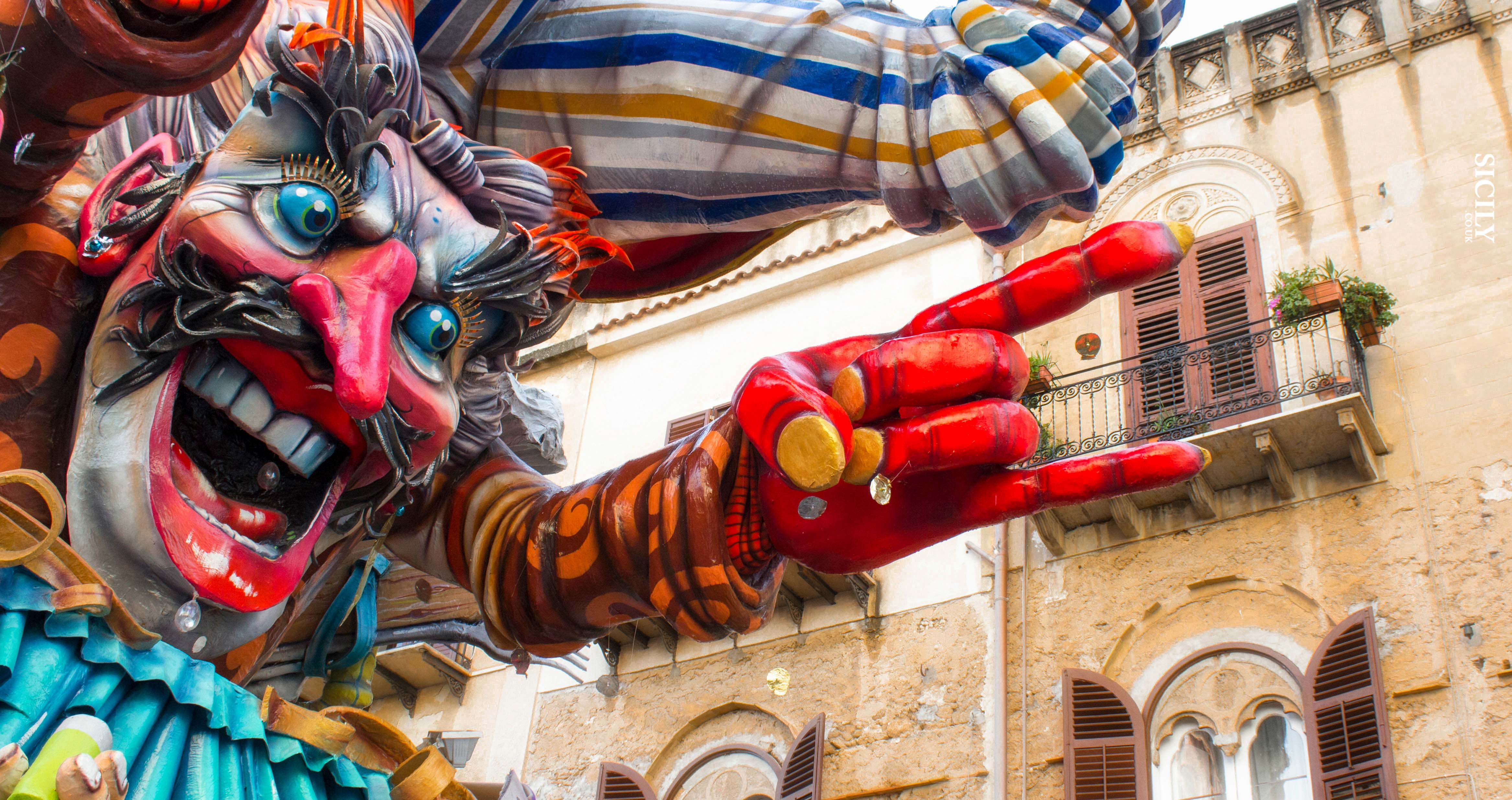 Carnevale di Sciacca (6, 9, 13, 14/02/16) The Sciacca's Carnival - Sicily