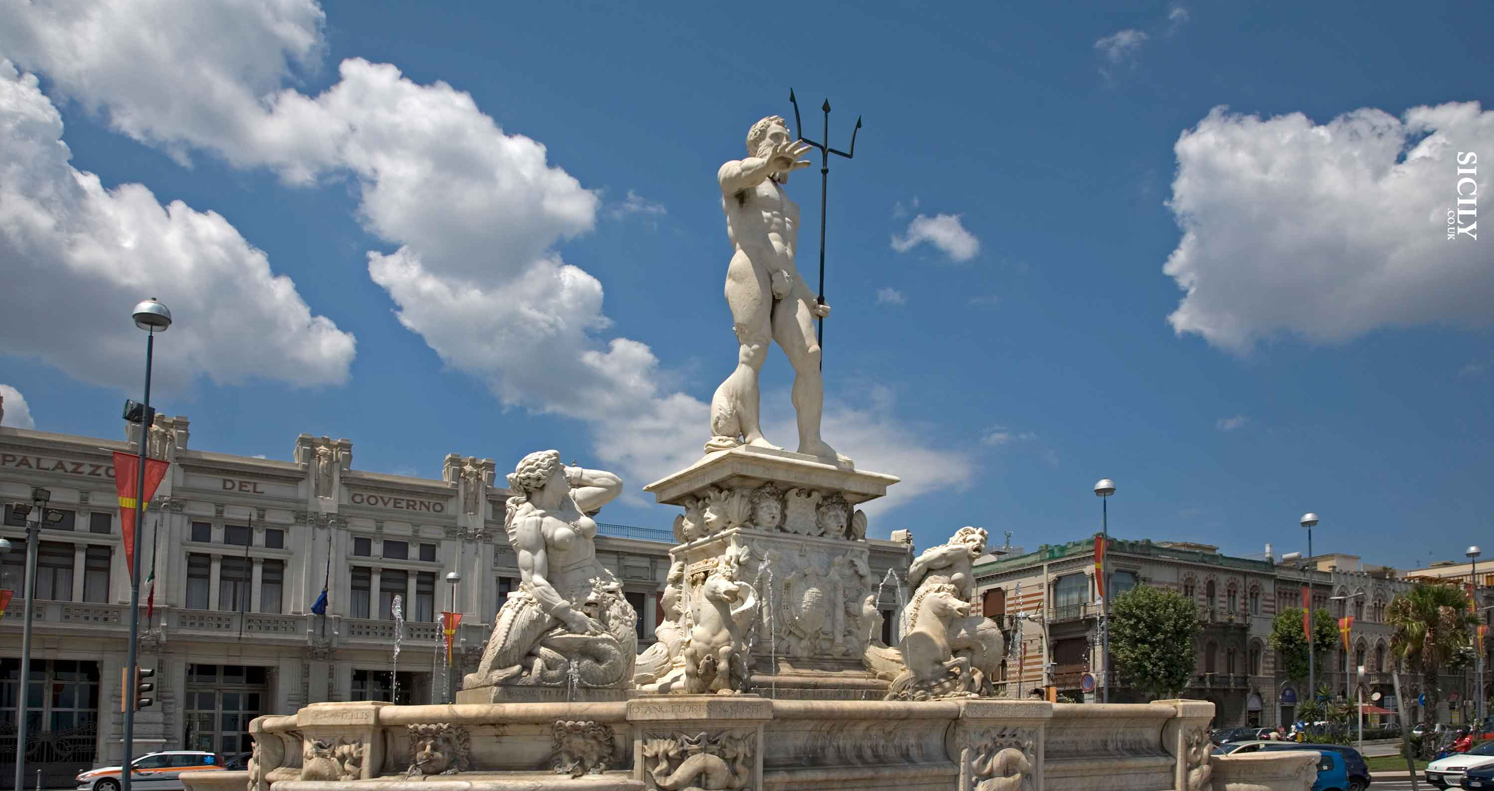 Nettuno Fountain - Sicily