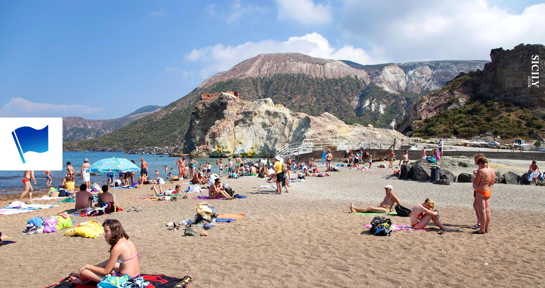 Vulcano Island Beaches ⚑ - Sicily