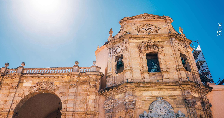 Garibaldi Door in Marsala - Sicily