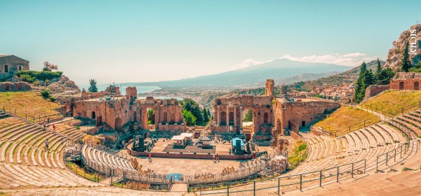 Greek-Roman Theatre of Taormina Province of Messina