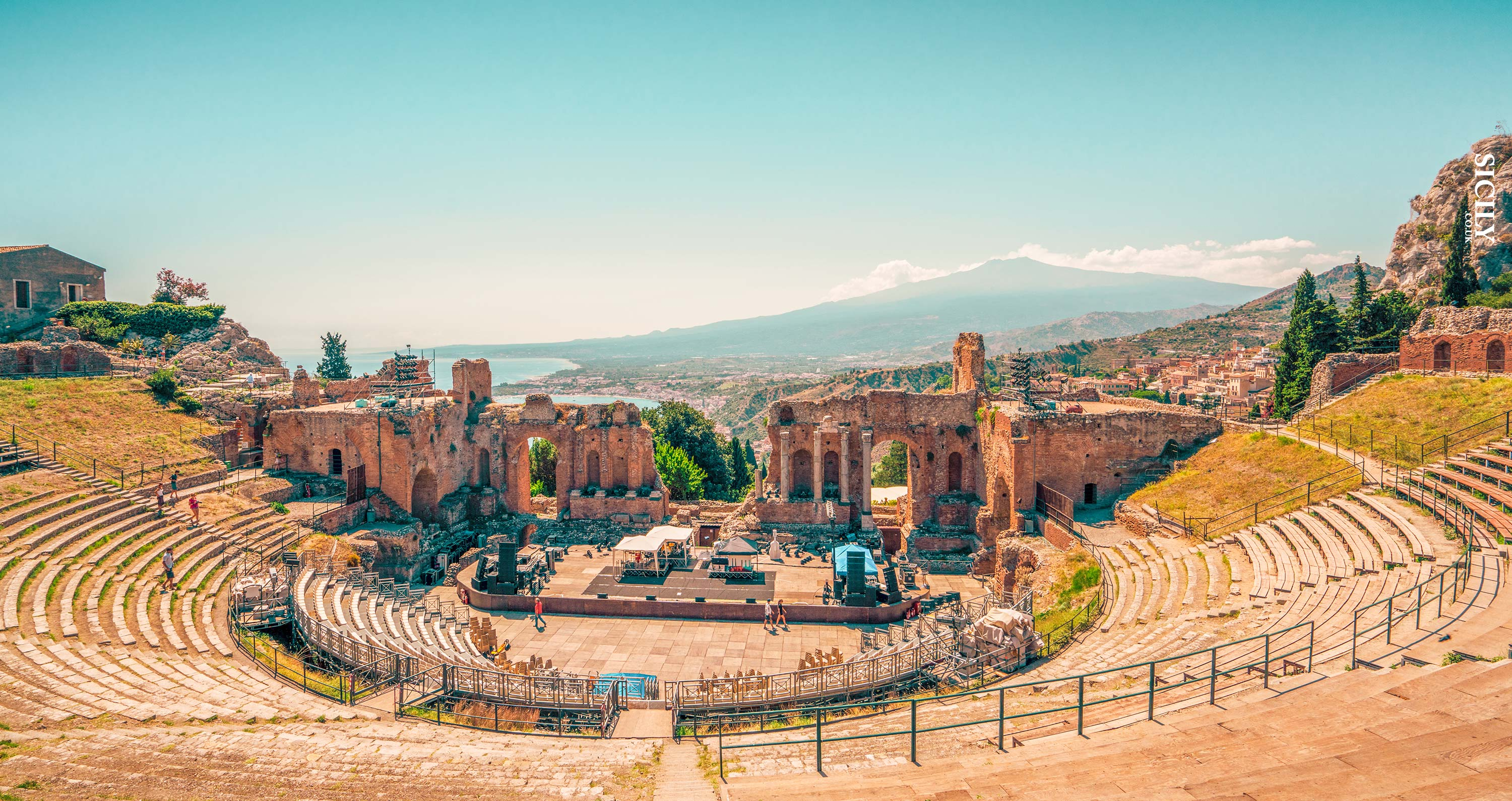 Greek-Roman Theatre of Taormina - Sicily