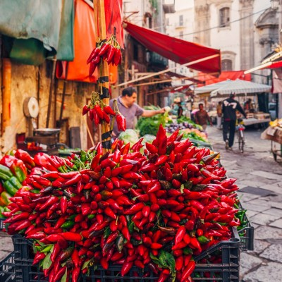 Street Markets - Province of Palermo