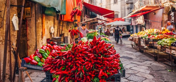 The Famous Markets of Palermo