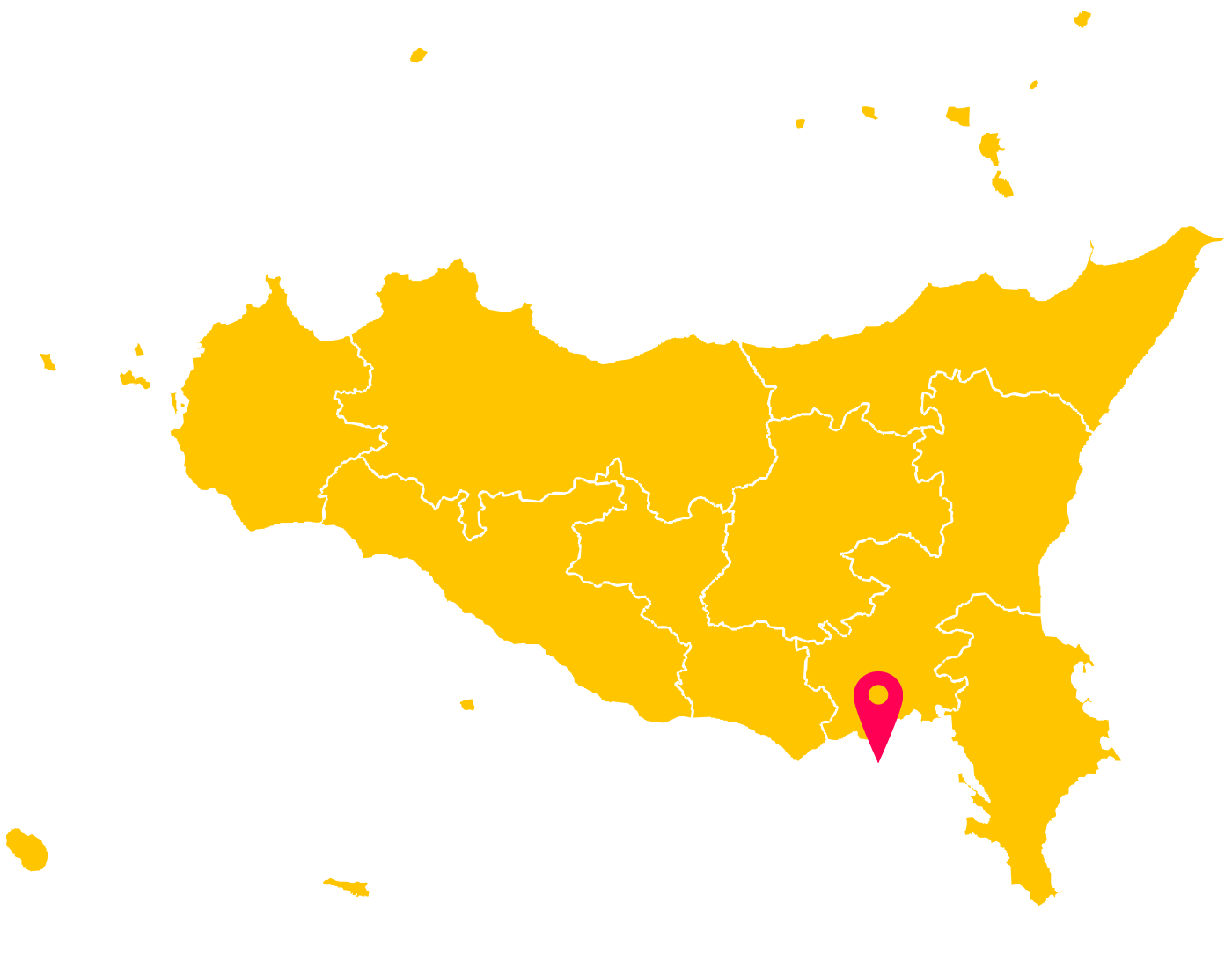 Map of Pelagian Islands